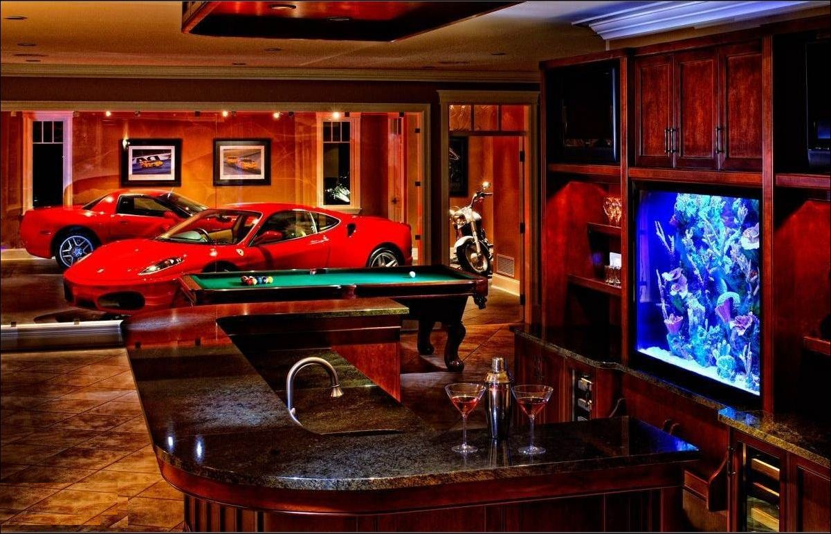 Eurotuner europe dreamgarages part 2 is this real for Beautiful home bars