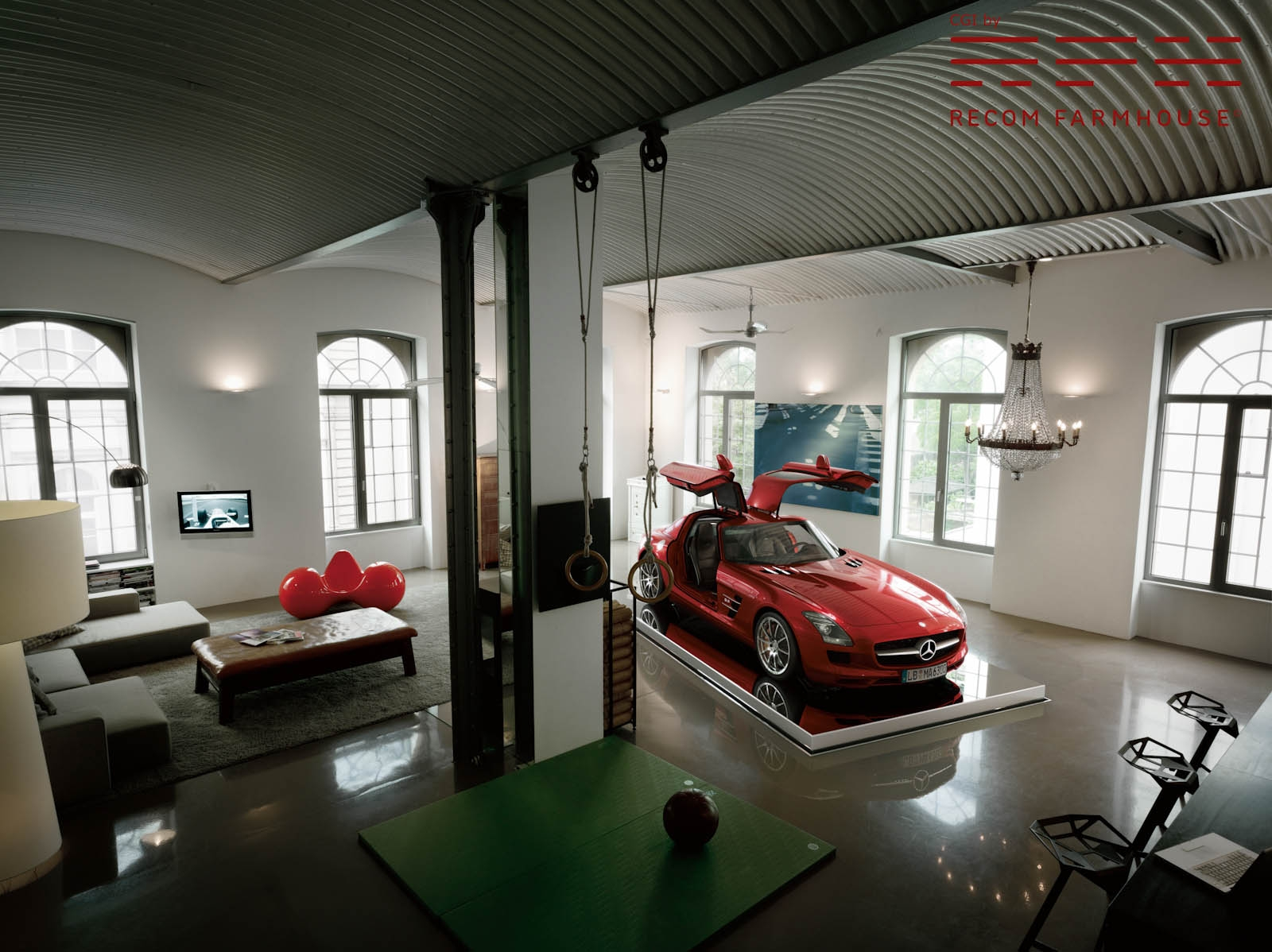 Eurotuner europe dreamgarages part 2 is this real for Living room garage