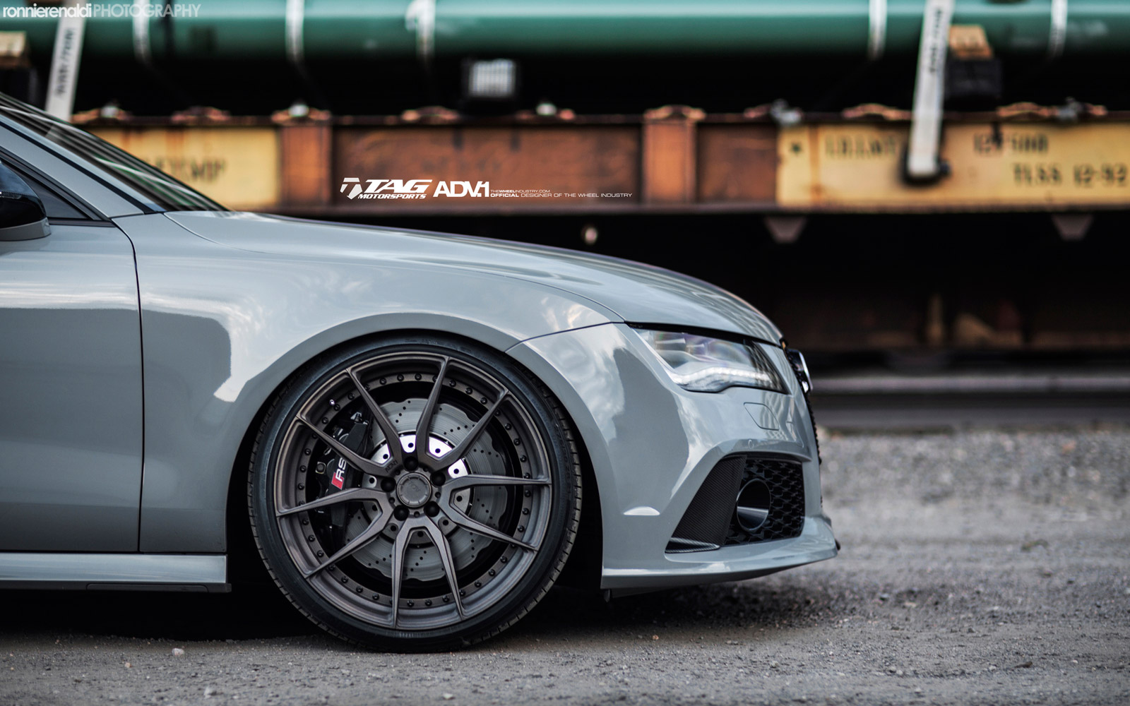Audi Rs7 Grey Battle Ship By Adv1 Automotive Tuner
